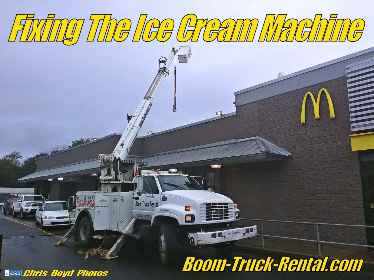 Fixing the ice cream machine at mcdonalds with images
