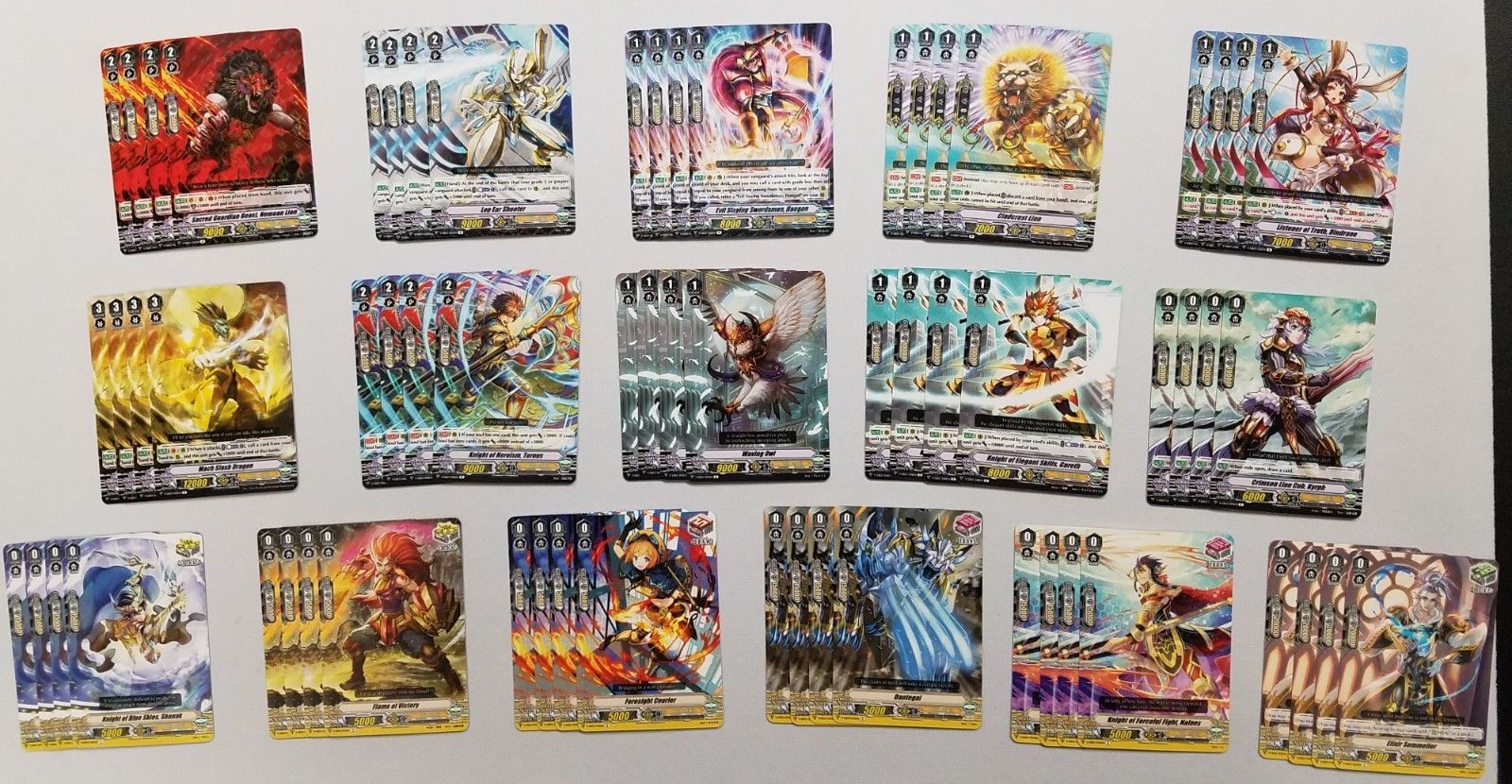 8a5abaa1d0 Other CCG Items 2535: V-Eb03 Ultrarare Miracle Collection- Rares Commons  Playset (X4) - Gold Paladin -> BUY IT NOW ONLY: $15 on #eBay #other #items  ...