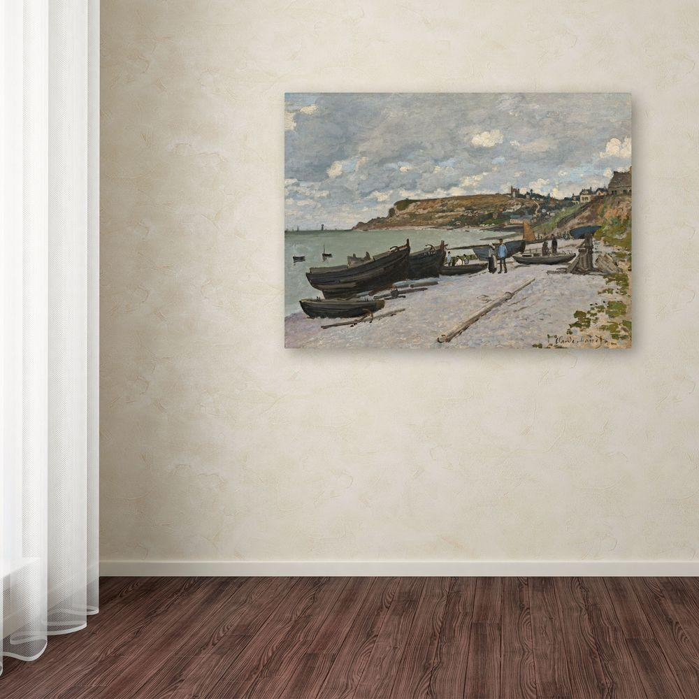 "35 in. x 47 in. ""Sainte-Adresse, 1867"" Canvas Art"