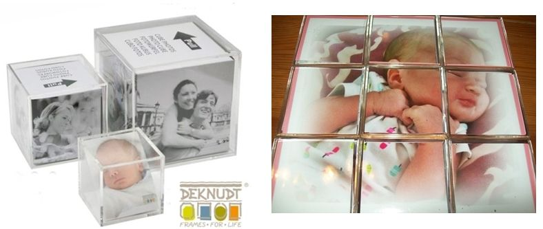 Fotowürfelpuzzle basteln. Siehe Auswahl zu Fotowürfel...