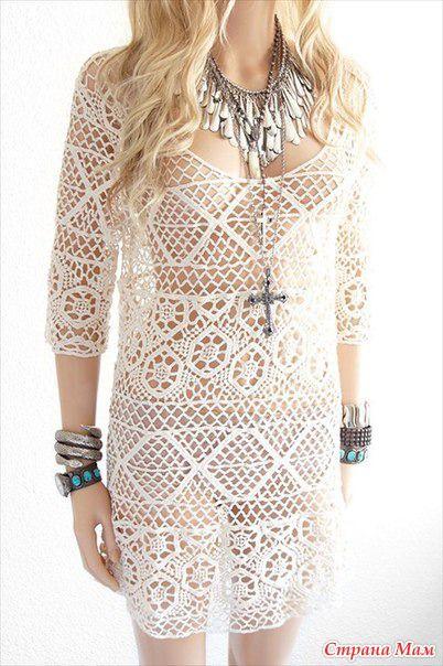 И так. Нашла в интернете модель платья. По фото не понятно ...