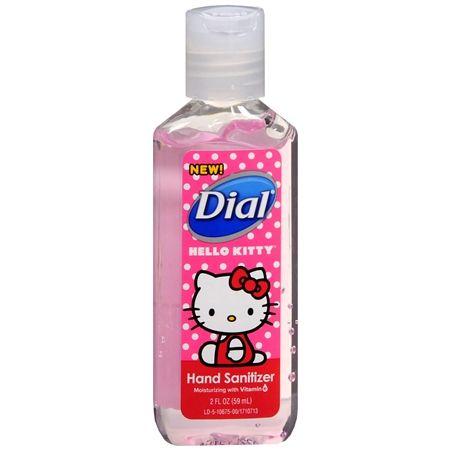 Dial Hand Sanitizer Gel Hello Kitty Hand Sanitizer Sanitizer