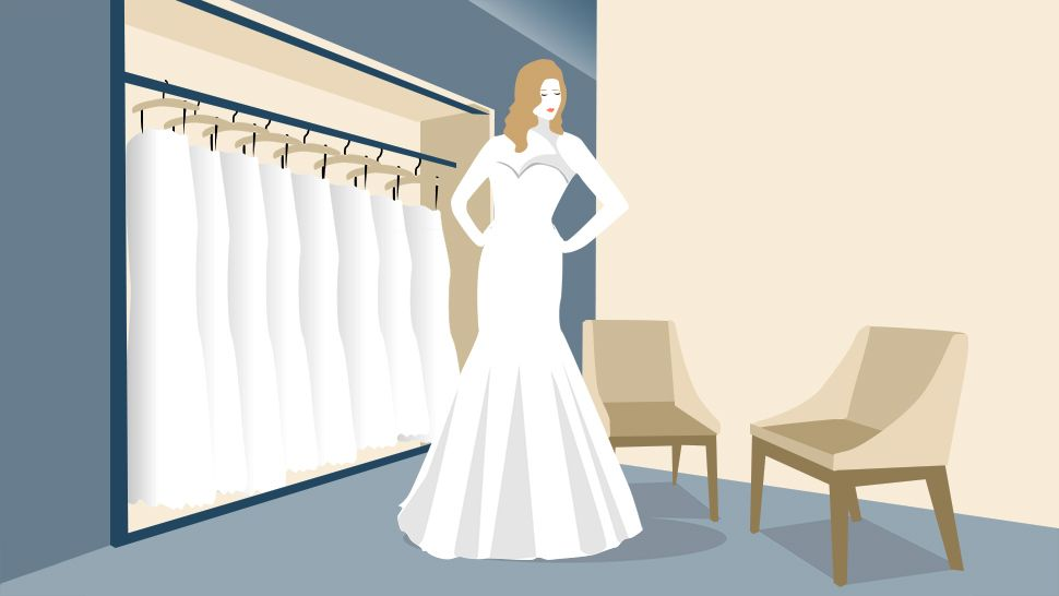 How to talk to a designer about the wedding gown of your