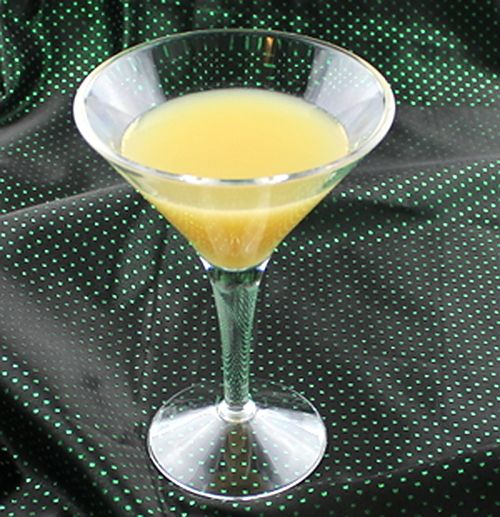 The Farmer's Daughter is a blended cocktail that tastes a bit like a banana…
