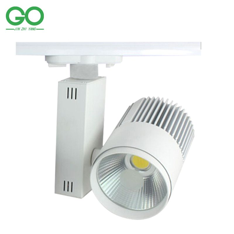 Led Track Light 30w Cob Rail Light Spotlight Lamp Replace 300w Halogen Lamp 110v 120v 220v 230v 240v Warm Cold Led Track Lighting Track Lighting Halogen Lamp