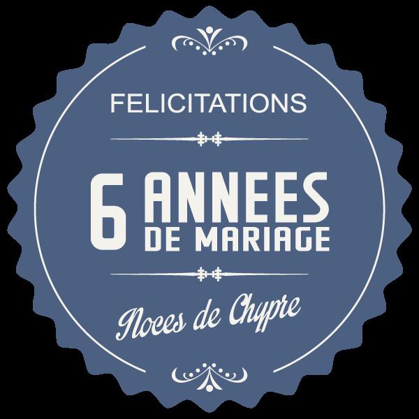 Anniversaire De Mariage 6 Ans