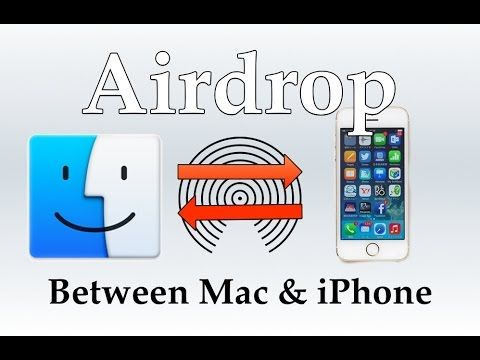 Airdrop Between Ios Mac How To Mac Computer Mac Blog Photo