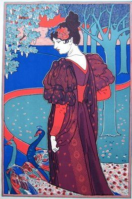Louis Rhead- Inspiration for portraits for friends.