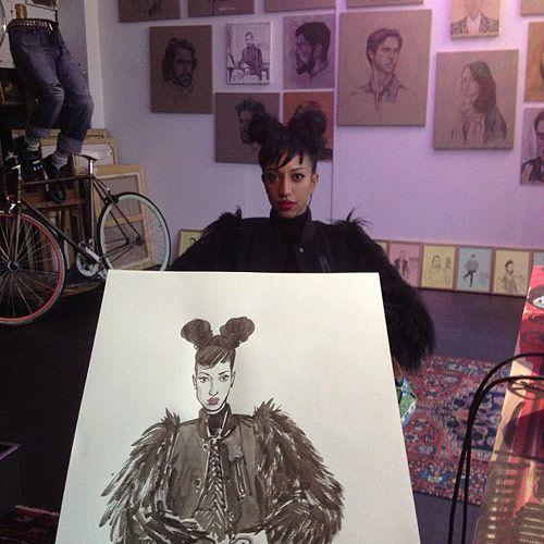Yue Wu at Le Salon