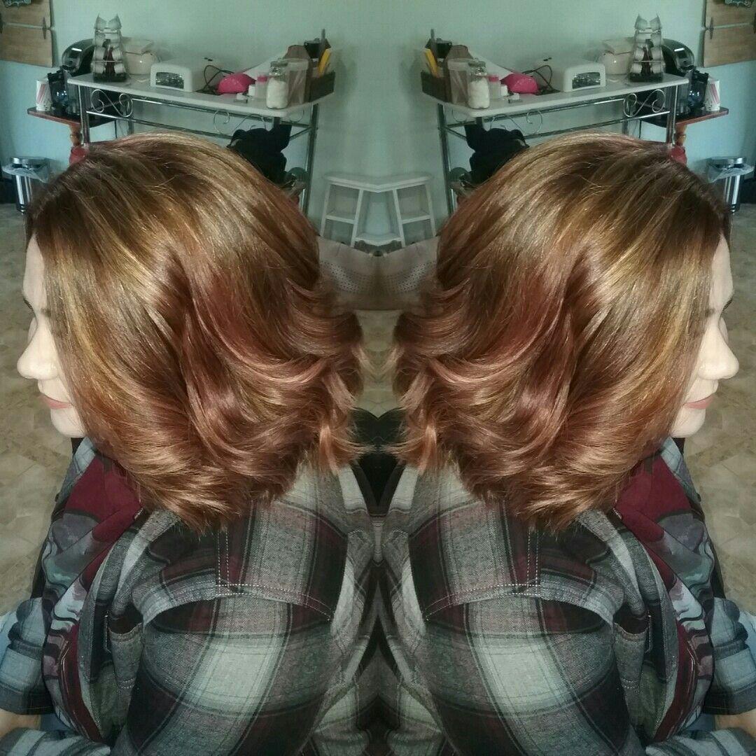 Warm Balayage Sellershairstudio Sellers Hair Studio Pinterest
