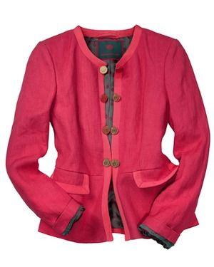 88742ea0aebb94 Leinenjacke (rot) von REITMAYER - Jacken - Bekleidung - Damenmode Online  Shop - Frankonia.de