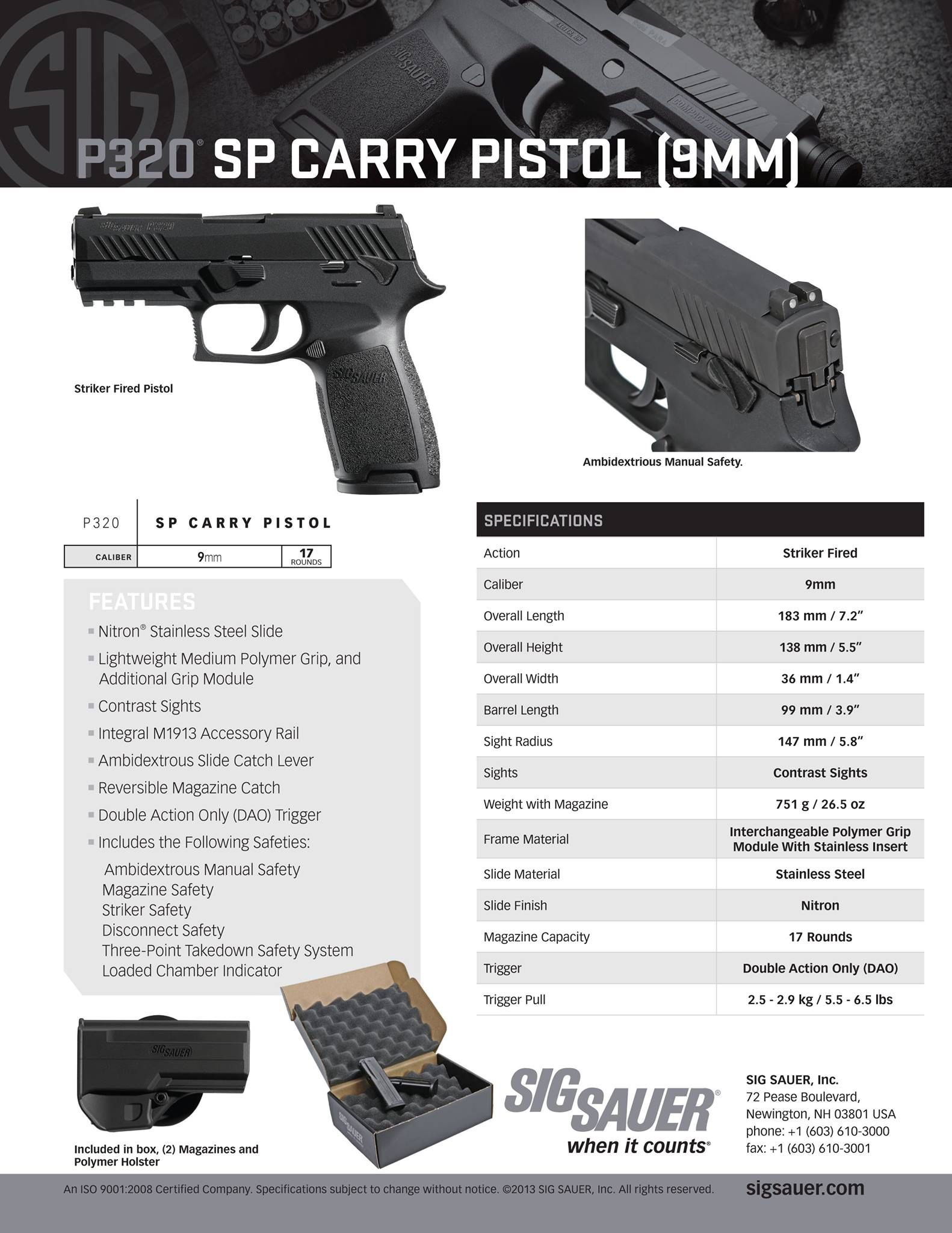 medium resolution of sig sauer p320 sp fcu with manual safety loading that magazine is a pain