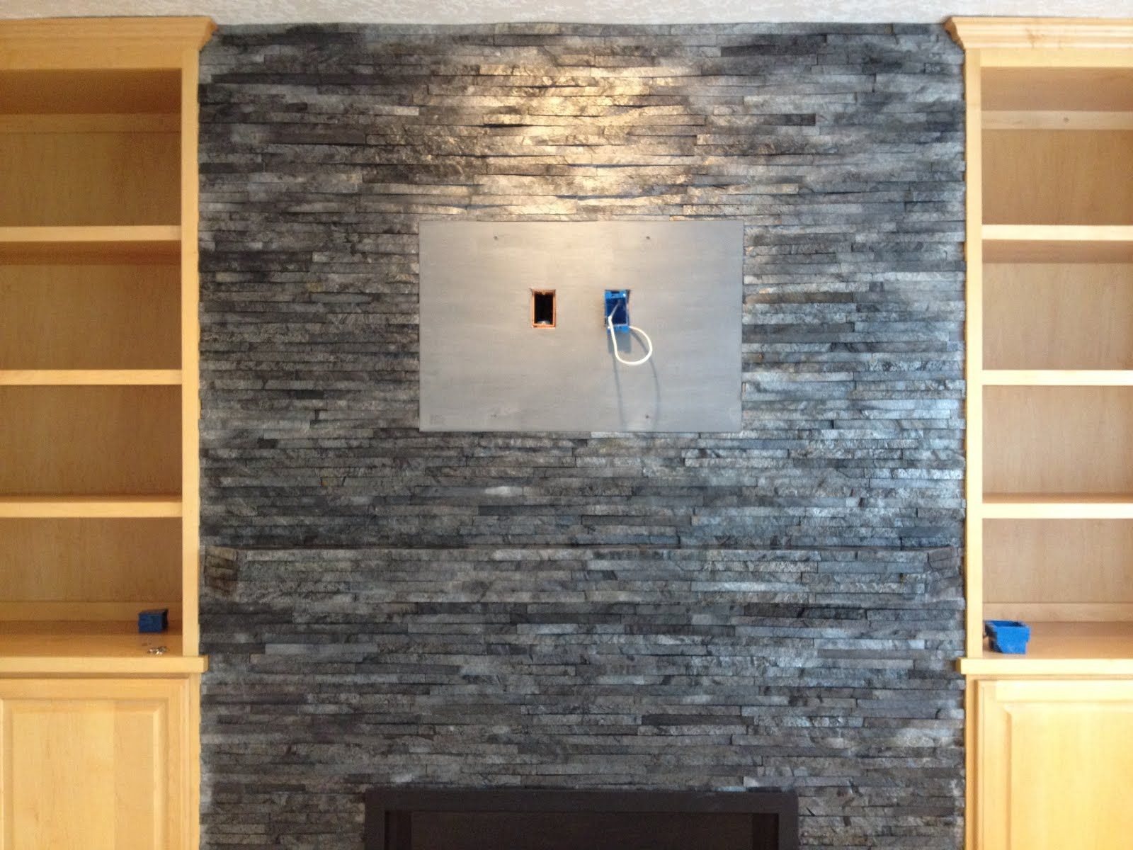 fireplace slate. tiled fireplace hearth ideas  Tile Stone Expertise Cultured with black slate