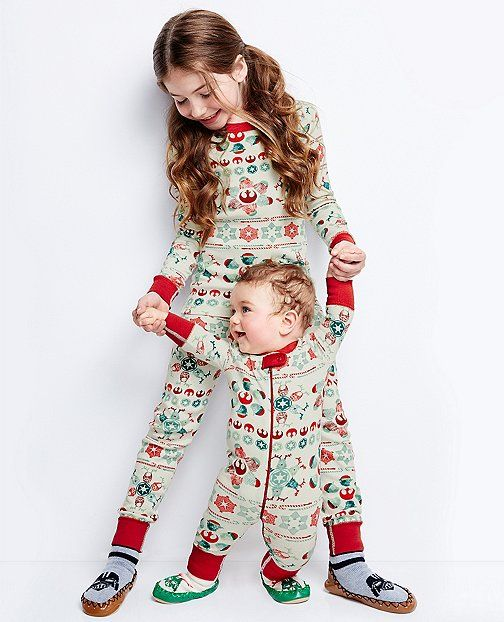 f09dd2af5d5f Star Wars™ Long John Pajamas In Organic Cotton by Hanna Andersson ...