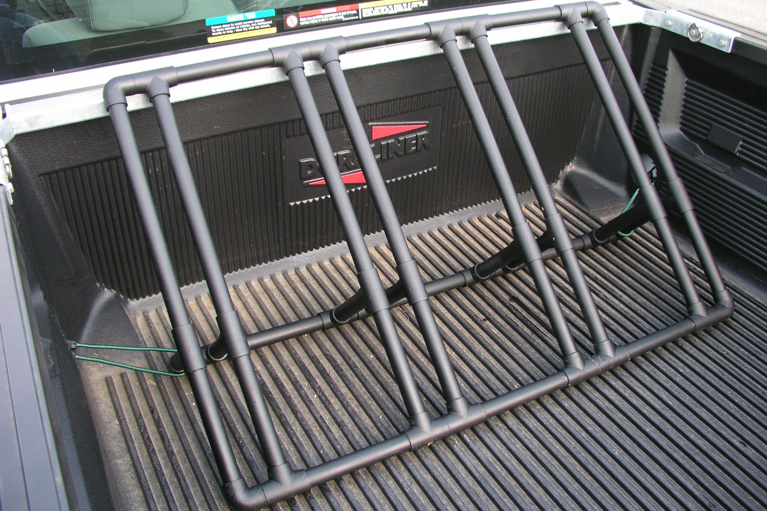 How To Build A Bike Rack For A Pickup Truck Camping