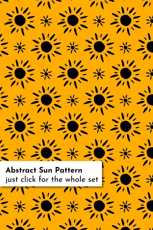 Sun Patterns Bundle Pattern Yellow Wallpaper Sun Drawing