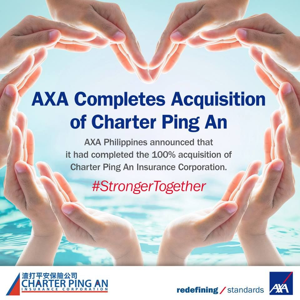 Axa Now Has A Non Life Insurance Arm Via Its Acquisition Of
