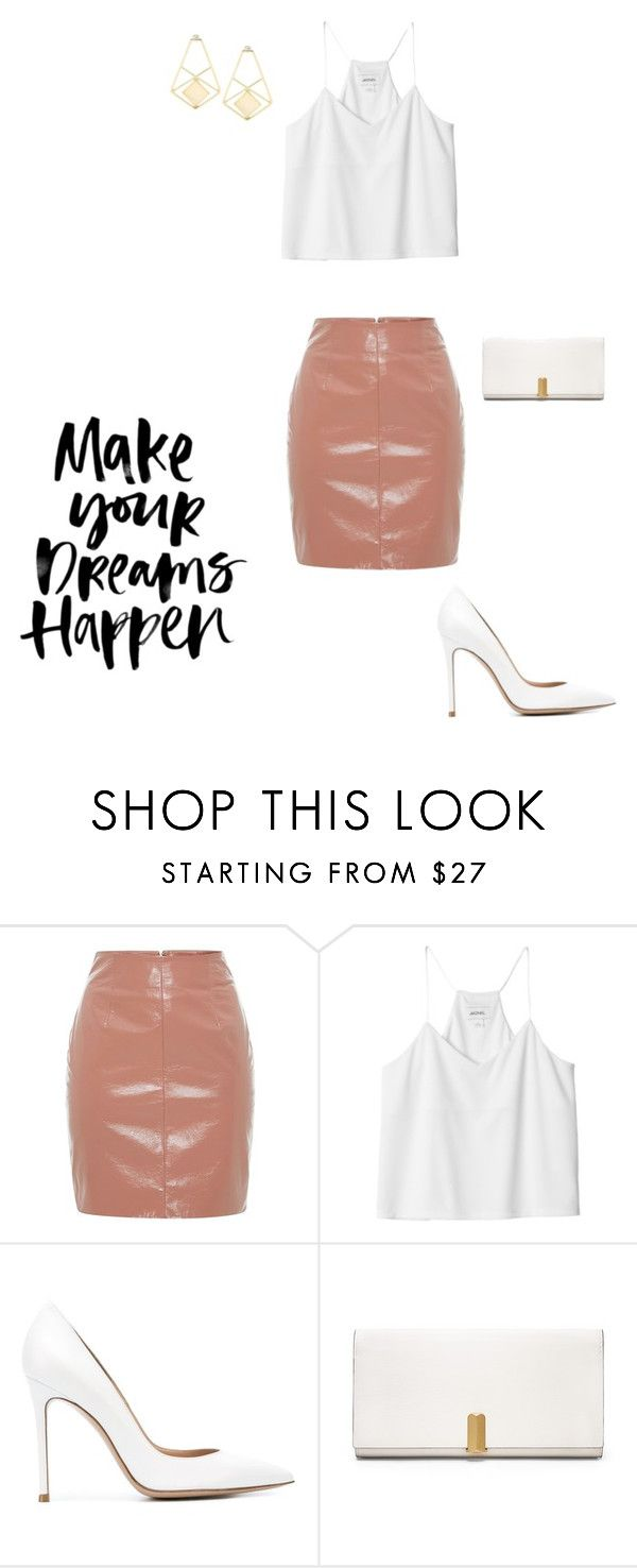 """""""Brunch with the Girls"""" by mya-miranda ❤ liked on Polyvore featuring Blumarine, Monki, Gianvito Rossi, Calvin Klein, women's clothing, women's fashion, women, female, woman and misses"""