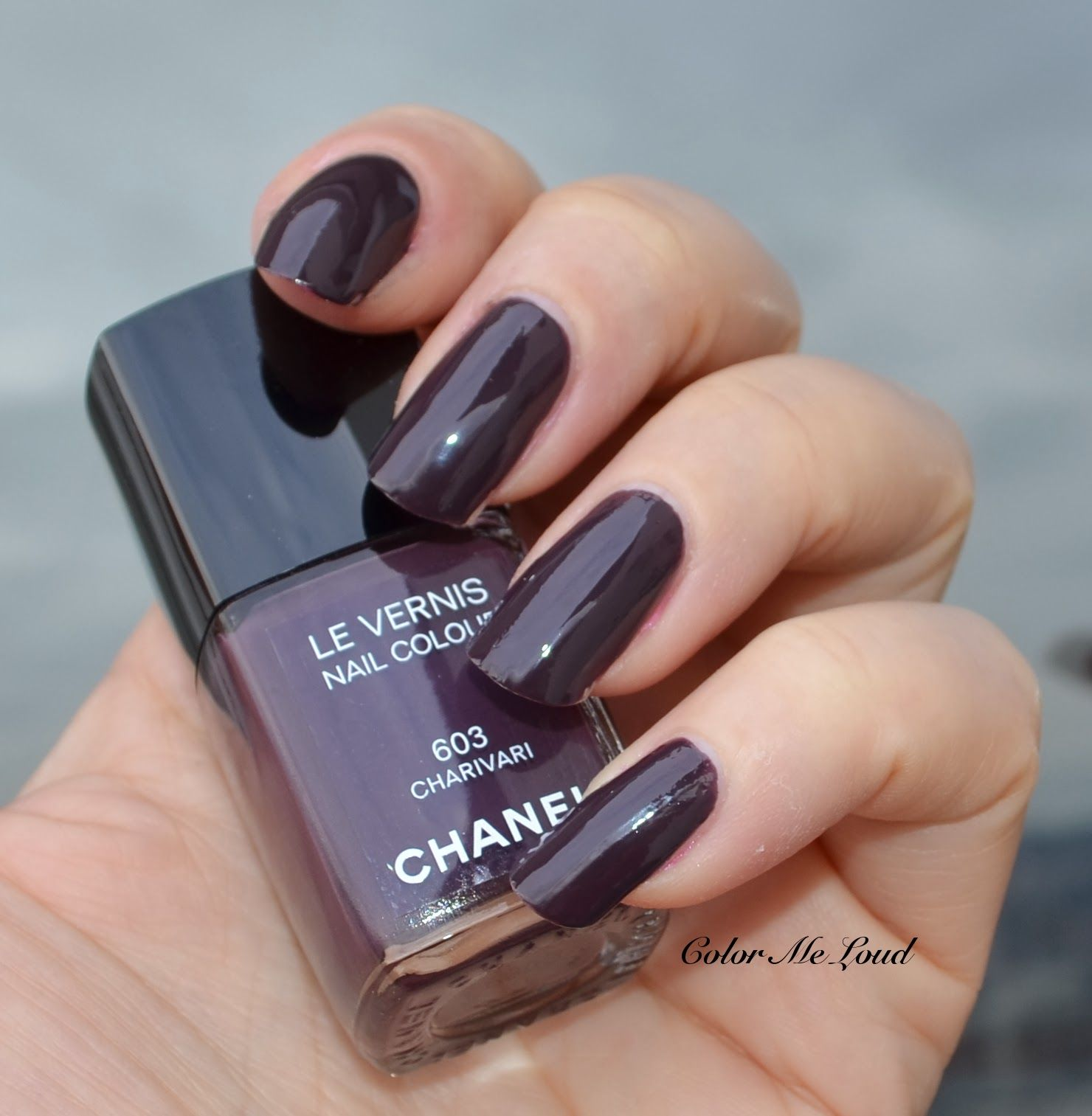 Chanel Nail Polish Cake: 603 Charivari Nail Colour Via 'Color