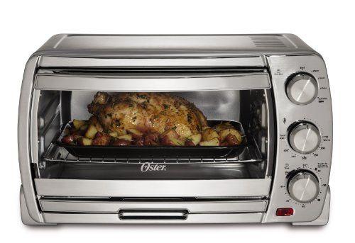 Oster Tssttvsk01 Extra Large Convection Toaster Oven Brushed