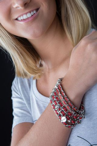Good Works Chain and Leather Bracelet – Two Elle's Boutique
