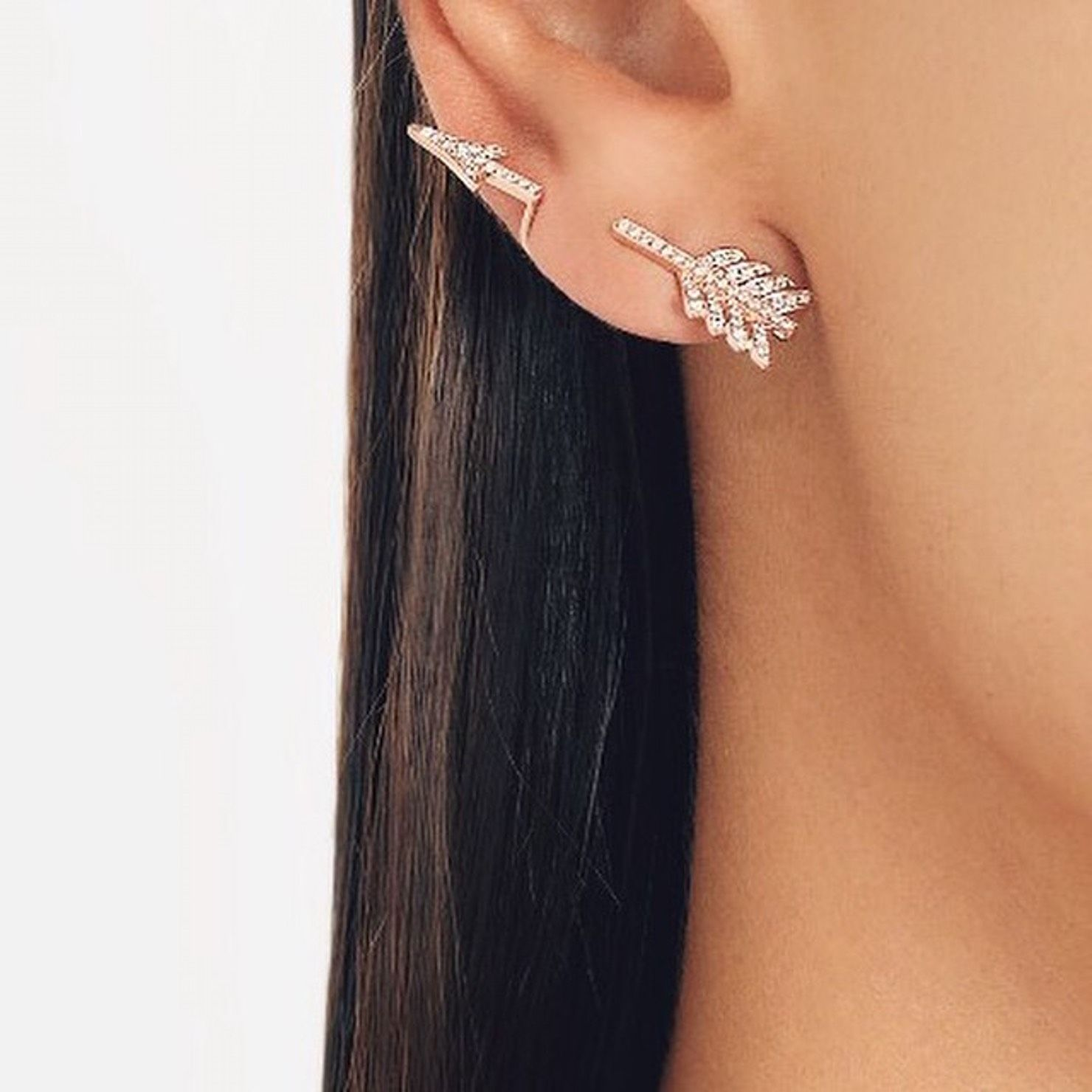 Pretty piercing ideas   Unique Ear Piercing Ideas  Unique ear piercings Ear piercings