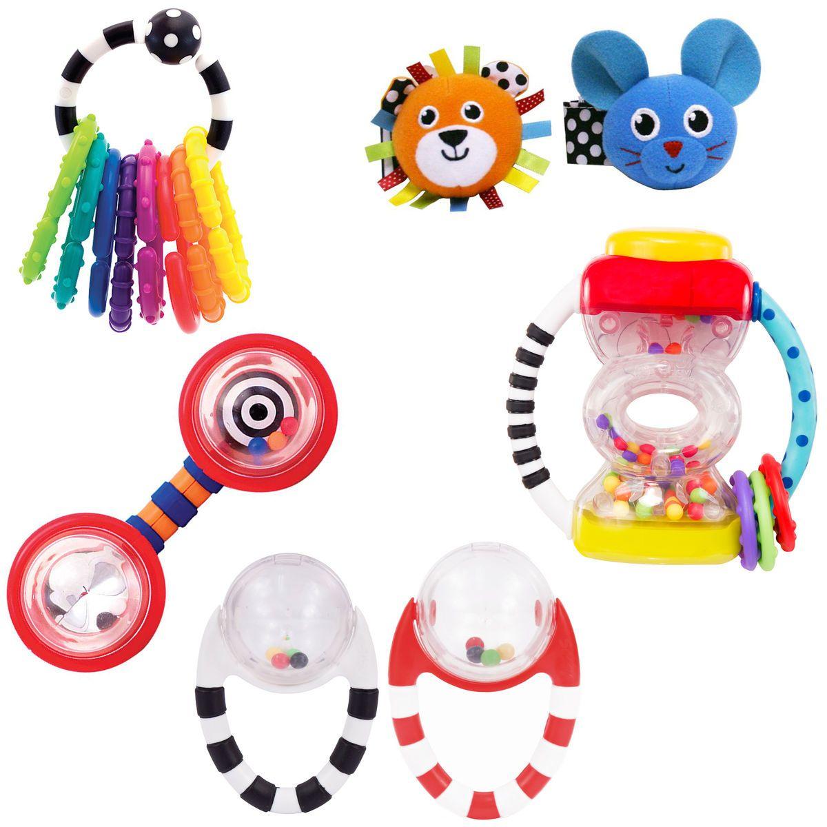first rattles gift set sassy developmental toys sassy