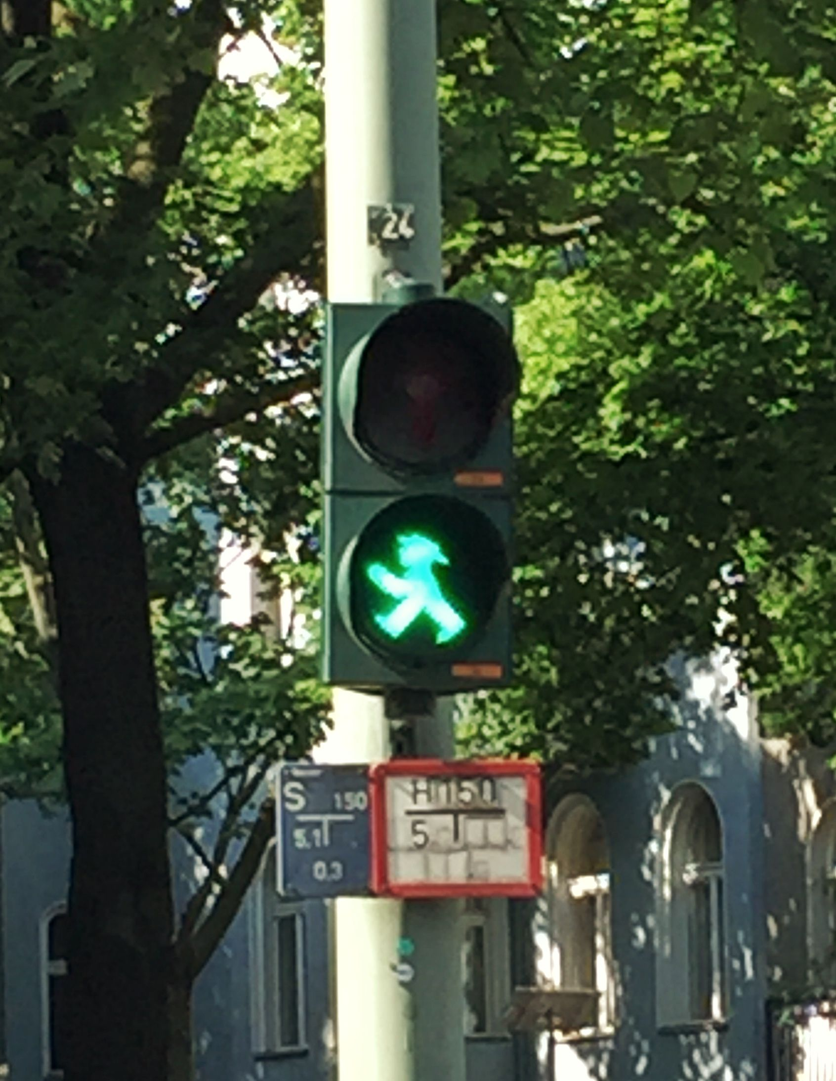 Ampelmann is an iconic Berlin symbol. He even has his own gift shop!