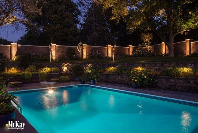 Pool Landscape Lighting Design Ideas And Photos Pool Landscaping Landscape Lighting Outdoor Lighting Design
