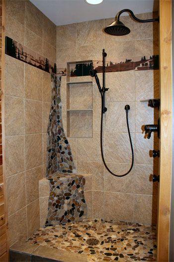 Photos Of Bathroom Shower tile wraparound