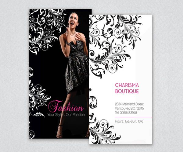 clothing store business card - Google Search | Fashion store biz ...