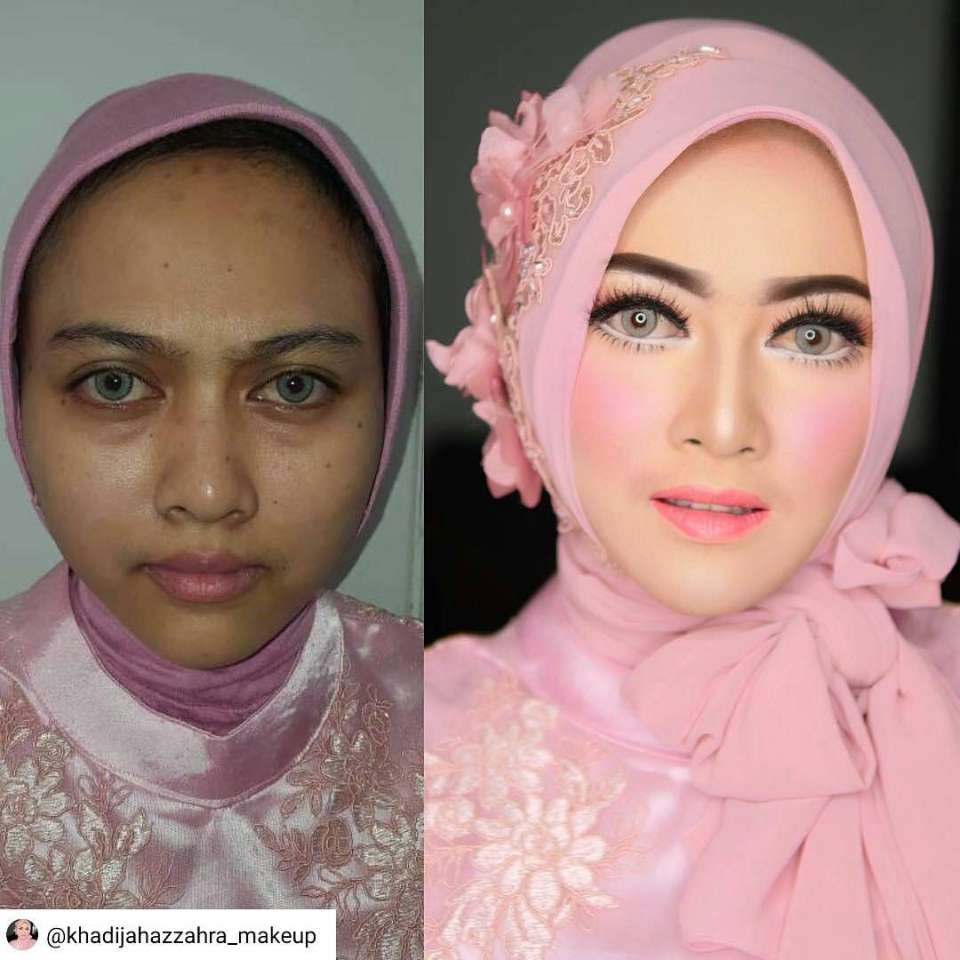 Inspiring make up from khadijahazzahra_makeup So