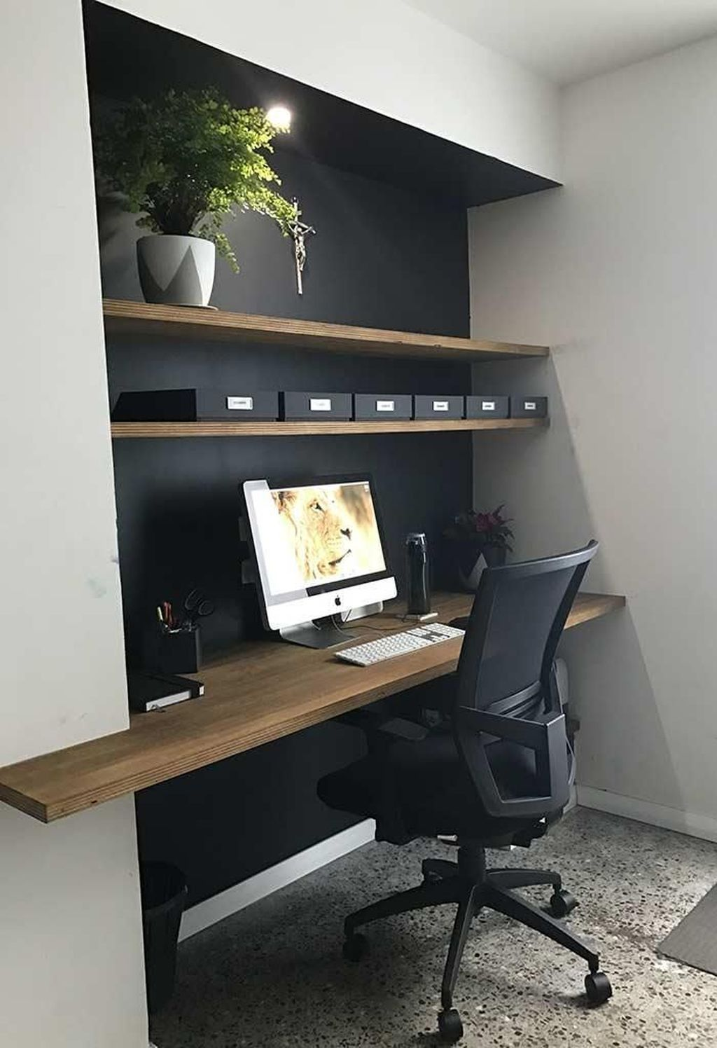 30 Admirable Modern Home Office Design Ideas That You Like In 2020