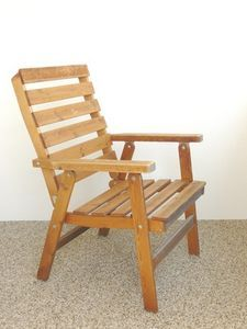 How To Build A Simple Wooden Chair Diy Outdoor Furniture Wooden