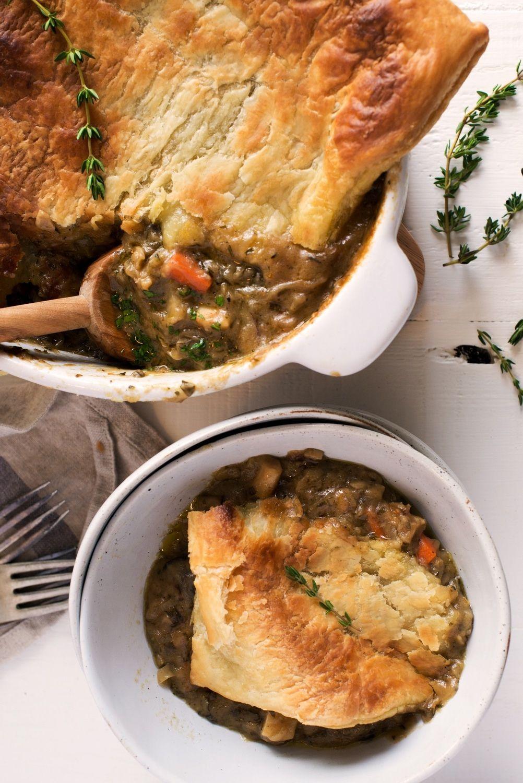 Recipe Vegetarian Root Vegetable Pot Pie Recipe Dinner Pies Vegetable Pot Pies Recipes