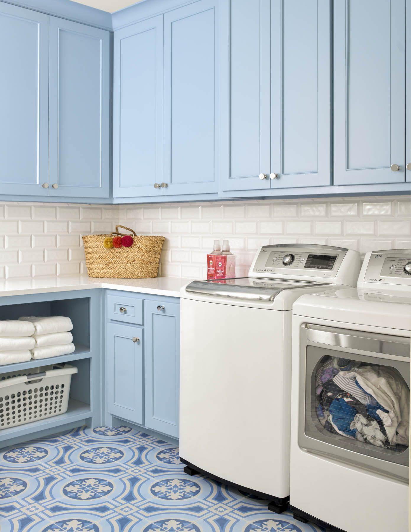 Laundry Jenkins Interiors White Laundry Rooms Blue Laundry