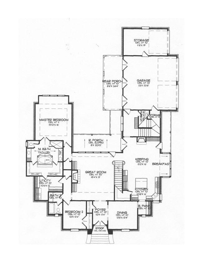 Chateau Usse 1st Floor Floor Plans House Plans Great Rooms
