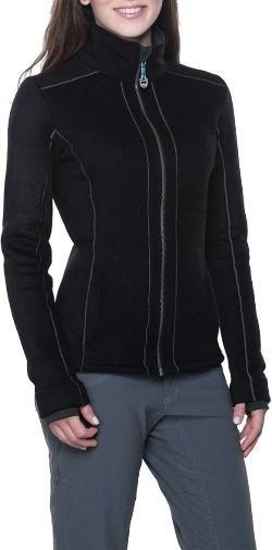022be51fc4fb9 KUHL Women's Stella Full-Zip Fleece Jacket Syrah XL | Products ...
