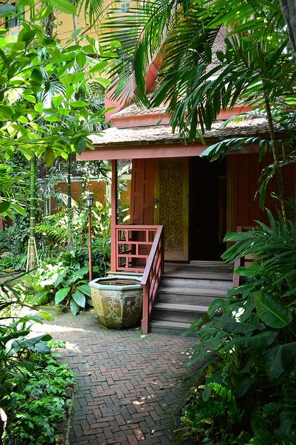 Jim Thomsons House And Garden, Bangkok, Thailand