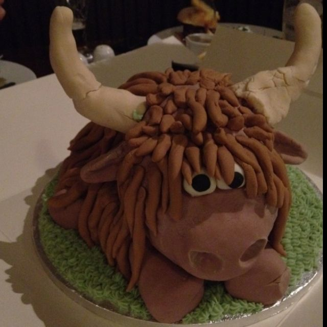 Highland Cow Cake Ill Be Needing This Cake For My Birthday