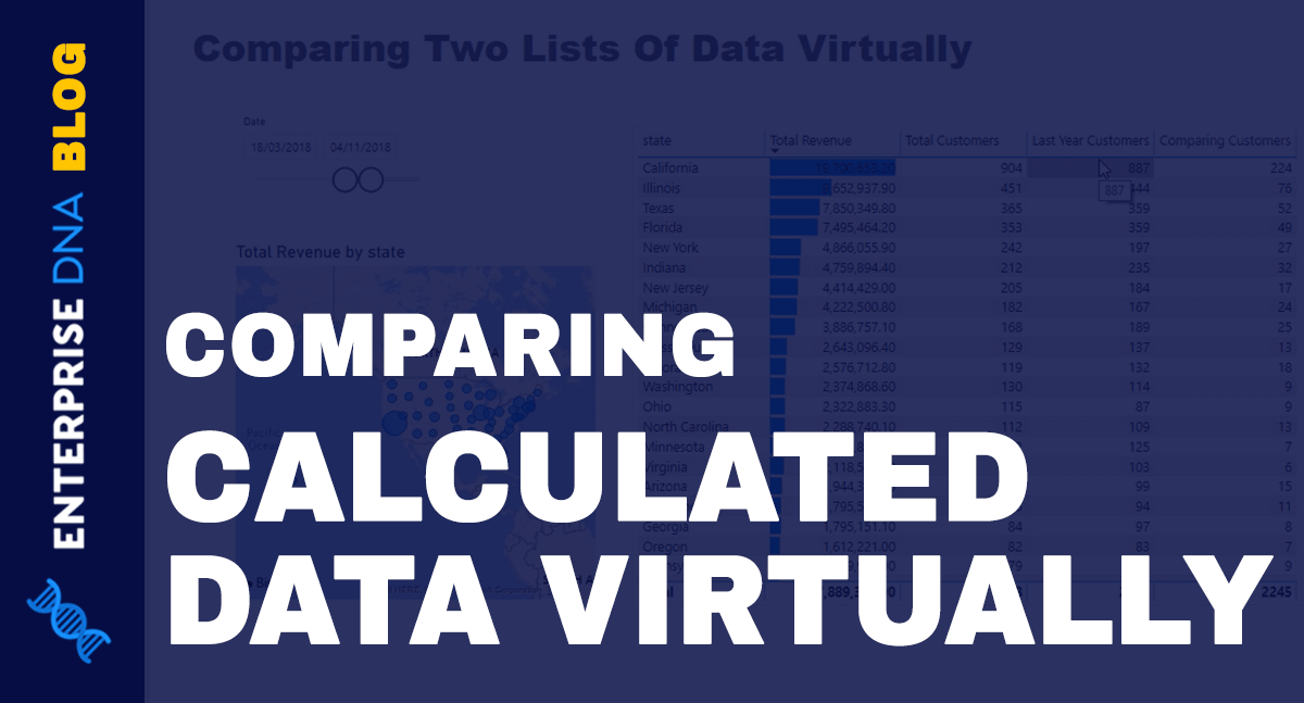 Discover How To Compare Two Lists Of Calculated Data In Power Bi Dax Data List