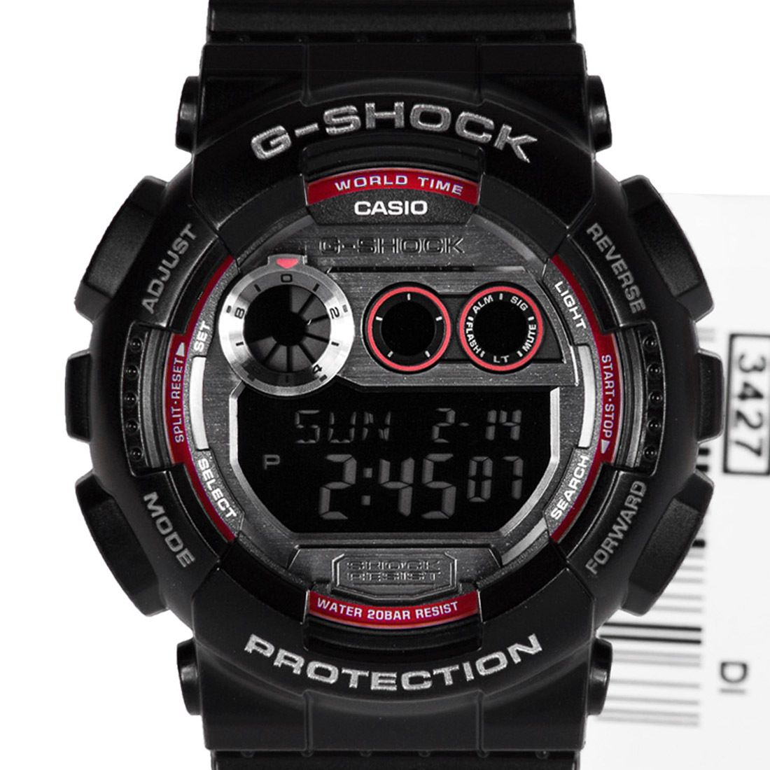 Casio GD120TS1DR Gshock Mens Sports Watch GD120TS1