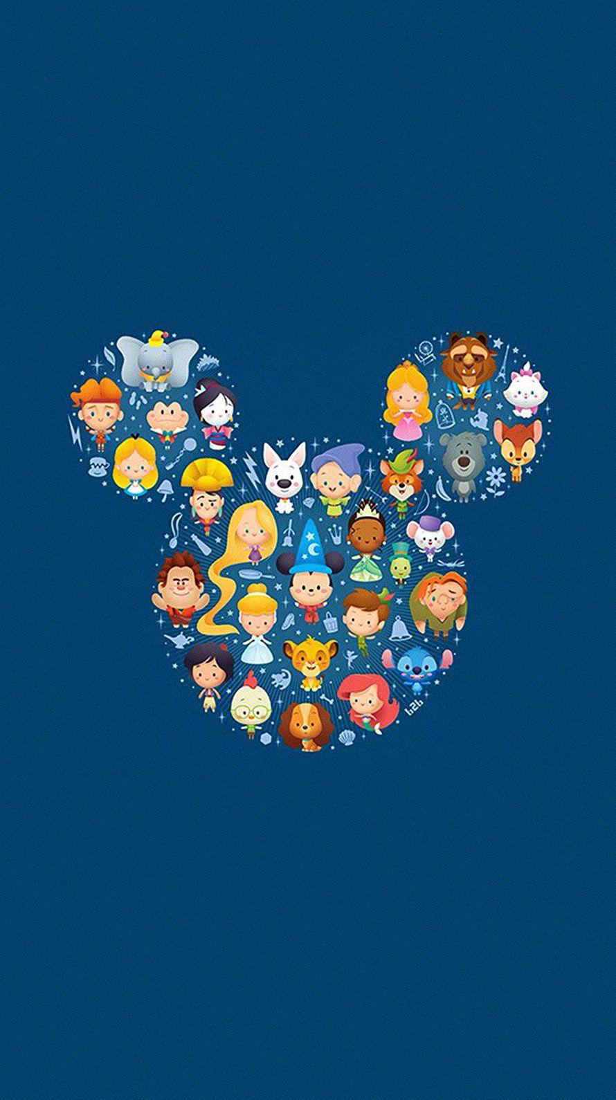 かわいいキャラクター Iphone6壁紙 ミッキーマウスの壁紙 漫画の壁紙 チップとデール 壁紙