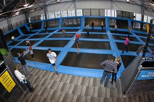 Nottingham Could Be Getting A Trampoline Park Similar To This House Of Air Indoor Trampoline Park Trampoline Park Trampoline Backyard Trampoline