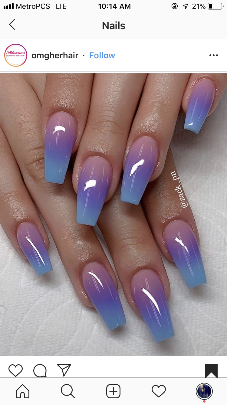 Ombre Nails Ombre Nail Art Designs Nail Art Ombre Best Acrylic Nails
