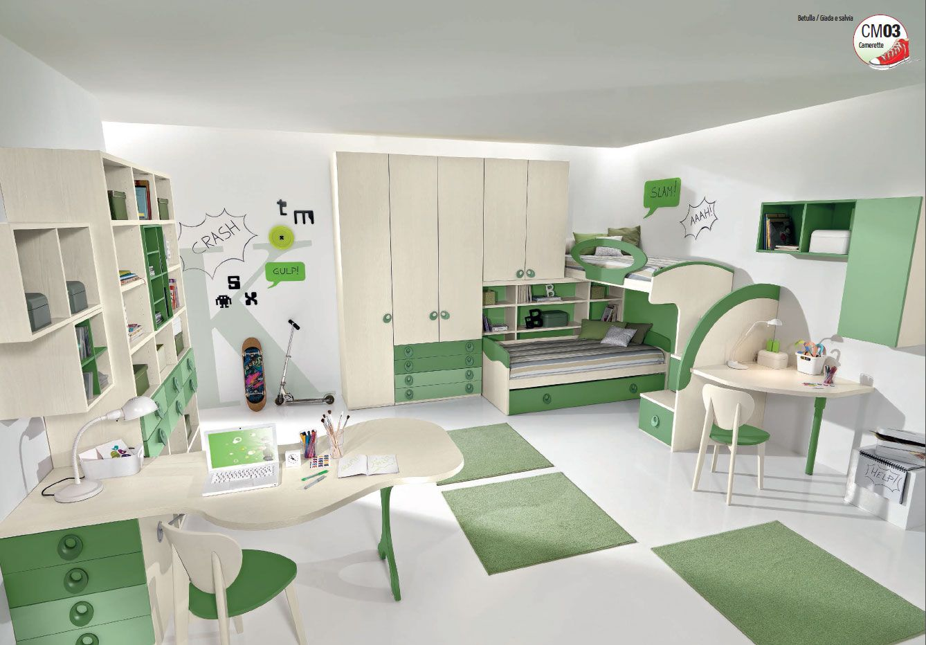 Small Bedroom A Whole Worlds To Live Www Giessegi It It Camerette  # Giessegi Muebles Infantil