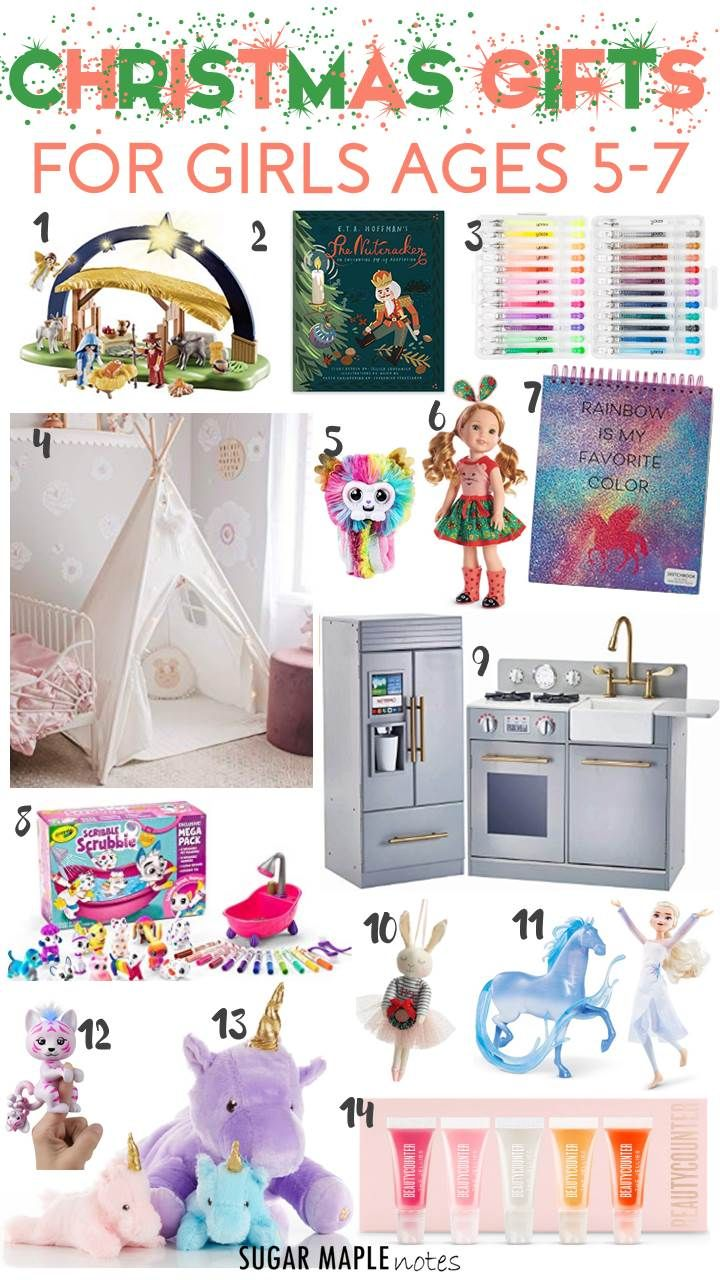 Christmas Gifts for Girls Ages 57 in 2020 Christmas