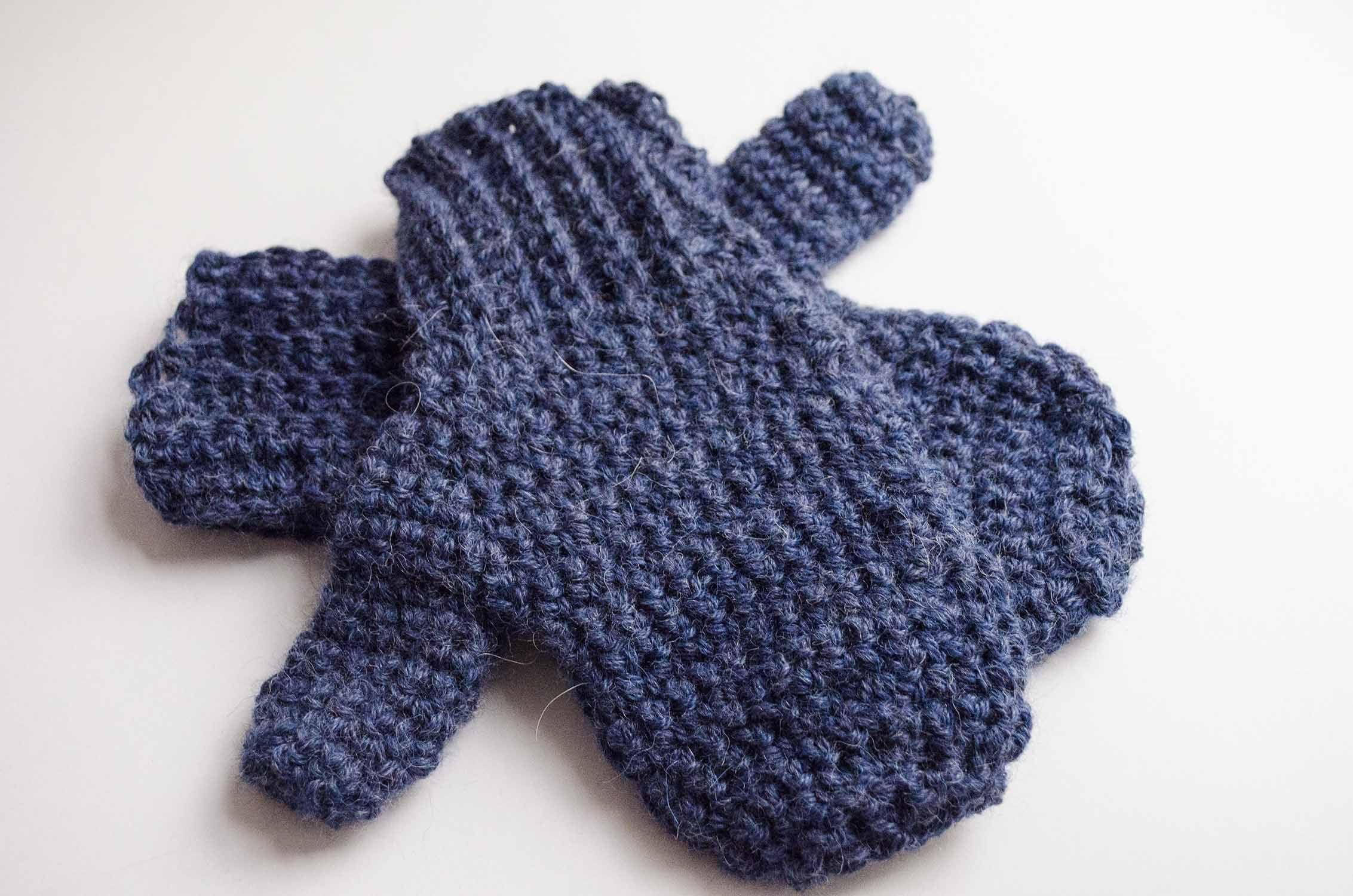 Free pattern: crochet mittens | Mitones tejidos, Tejer con dos ...