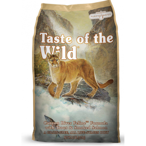Taste Of The Wild Canyon River Dry Cat Food Salmon Cat Cat Food