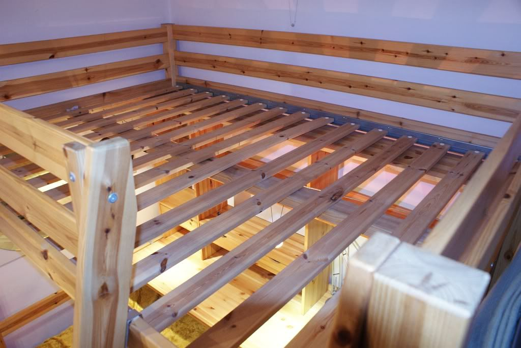 łóżko Piętrowe Antresola Z Biurkiem Ikea Stora 497119314